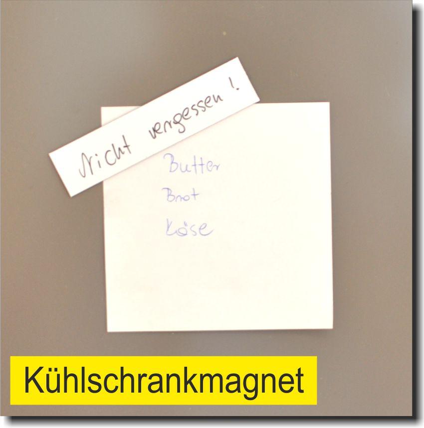 Magnetstreifen beschreibbar Kühlschrank Regale Magnete Schilder Magnetfolie Lage